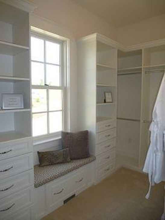 Impressive Walk In Closet Organization Ideas37