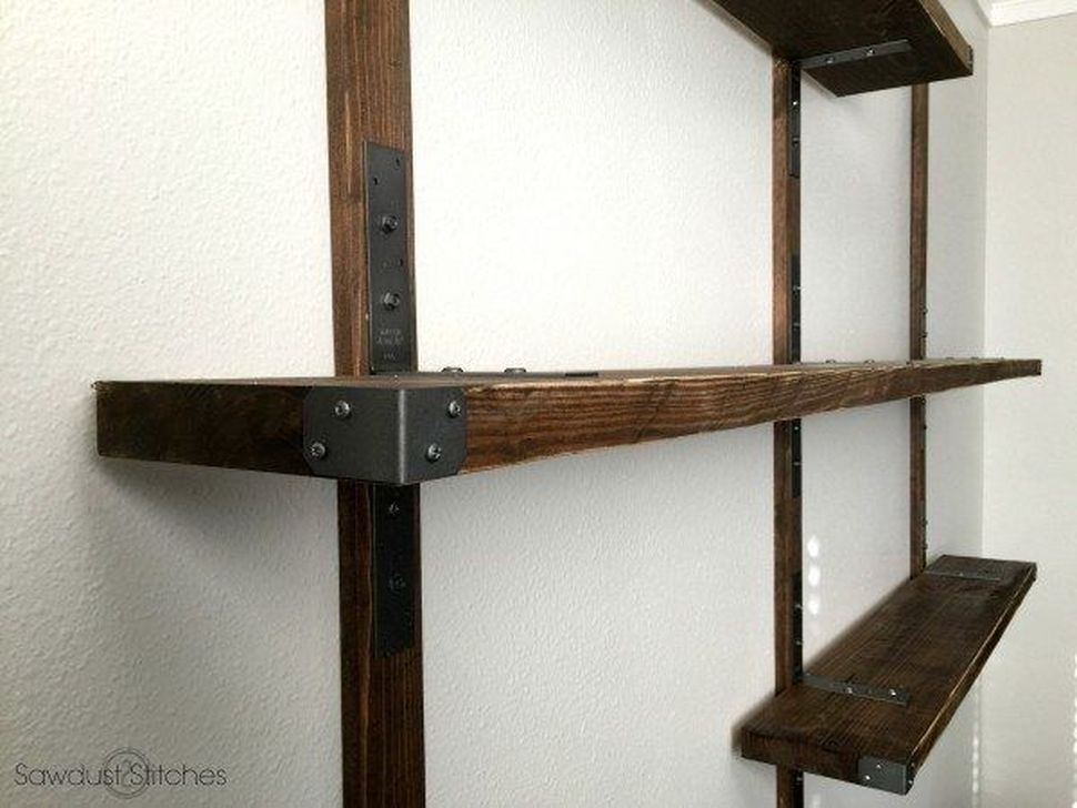 Inexpensive Diy Pipe Shelves Ideas On A Budget44