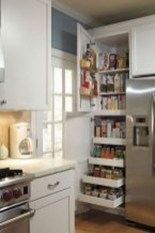 Magnficient Small Kitchens Ideas With Dark Cabinets06
