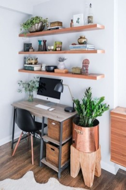 Unique Diy Home Office Decor Ideas25