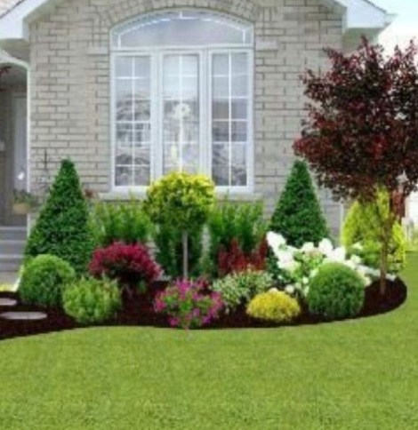 Wonderful Grass Landscaping Ideas For Home Yard03