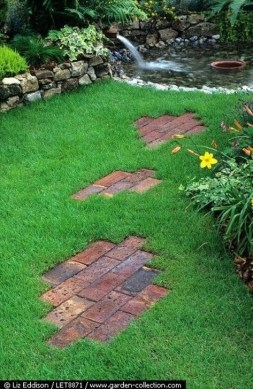 Wonderful Grass Landscaping Ideas For Home Yard23