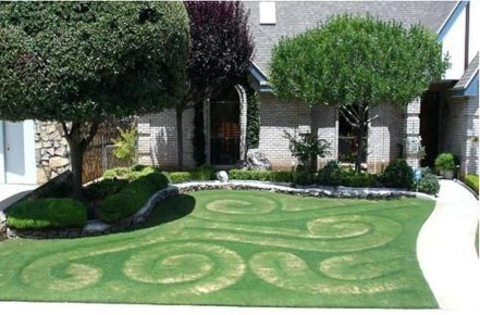Wonderful Grass Landscaping Ideas For Home Yard27