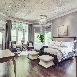 Awesome Bedroom Decor Ideas With Farmhouse Style 33