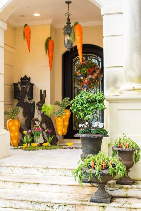 Charming Easter Ideas For Outdoor Decorations 15