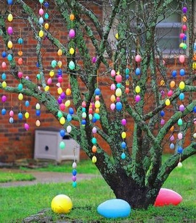 Charming Easter Ideas For Outdoor Decorations 16