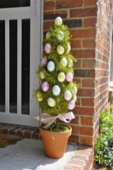 Charming Easter Ideas For Outdoor Decorations 19