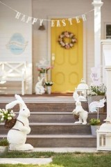 Charming Easter Ideas For Outdoor Decorations 22