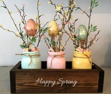 Charming Easter Ideas For Outdoor Decorations 27