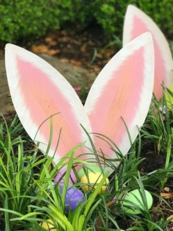 Charming Easter Ideas For Outdoor Decorations 33
