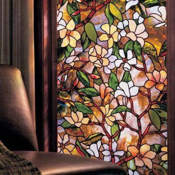 Comfy Stained Glass Window Design Ideas For Home 40
