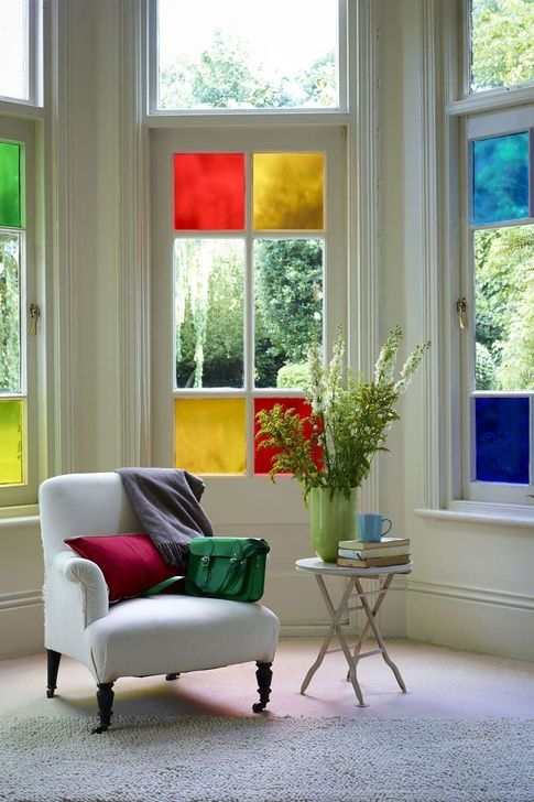 Comfy Stained Glass Window Design Ideas For Home 42