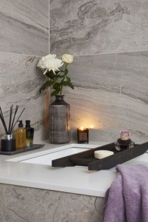 Cozy Spa Bathroom Decorating Ideas 22