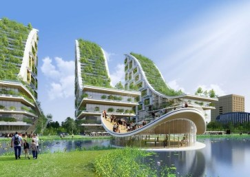 Elegant Sustainable Architecture Ideas For Green Building 30