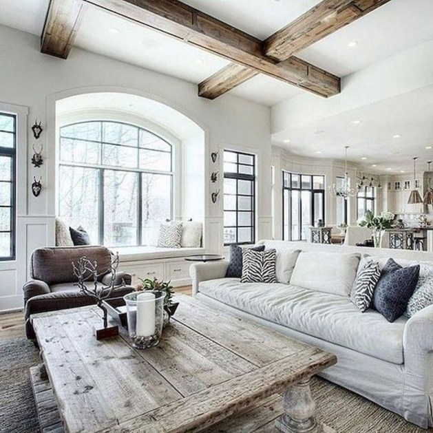 Gorgeous Farmhouse Living Room Design Ideas 29