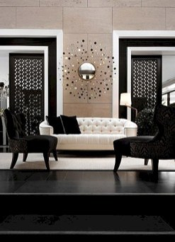 Relaxing Black And White Decor Ideas For Your Room 06