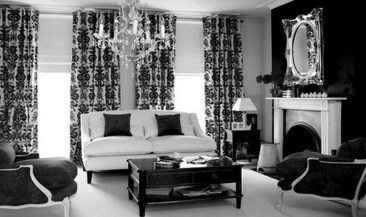 Relaxing Black And White Decor Ideas For Your Room 31