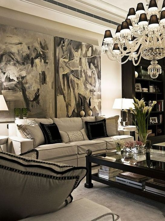 Relaxing Black And White Decor Ideas For Your Room 35