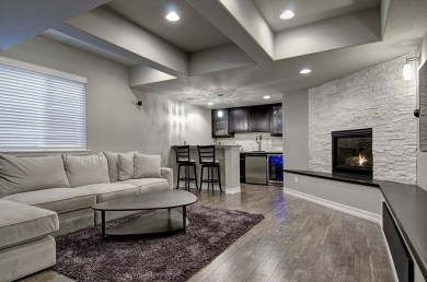 Wonderful Basement Remodel Ideas Into An Attractive Living Room 22