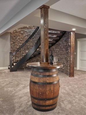 Wonderful Basement Remodel Ideas Into An Attractive Living Room 28