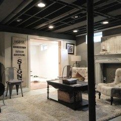 Wonderful Basement Remodel Ideas Into An Attractive Living Room 40