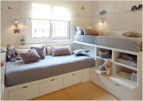 Enchanting Bedroom Storage Ideas 24