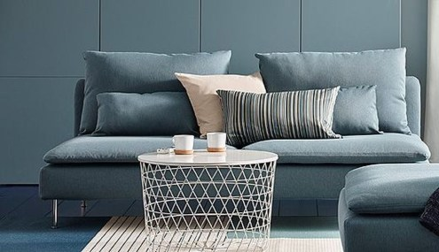 Enchanting Turquoise Living Room Ideas 43