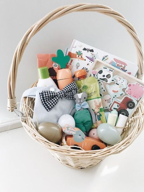 Gorgeous Easter Basket Ideas For Kids 24