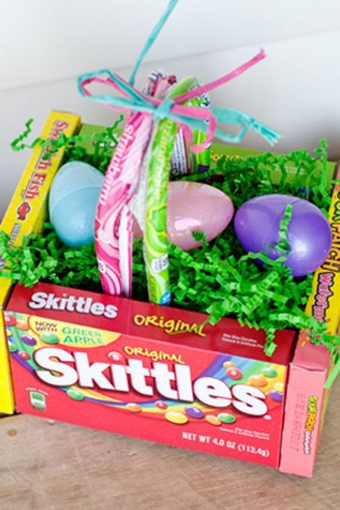 Gorgeous Easter Basket Ideas For Kids 30