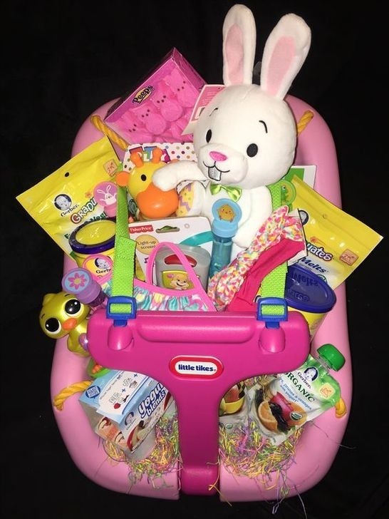 Gorgeous Easter Basket Ideas For Kids 31