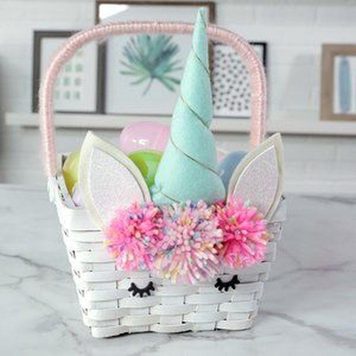 Gorgeous Easter Basket Ideas For Kids 38