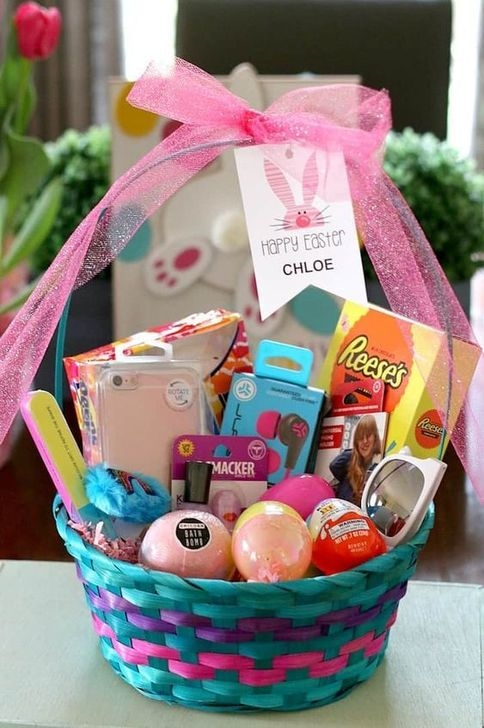 Gorgeous Easter Basket Ideas For Kids 46