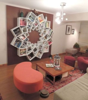 Inexpensive Bookshelf Design Ideas That Are Popular Today 20