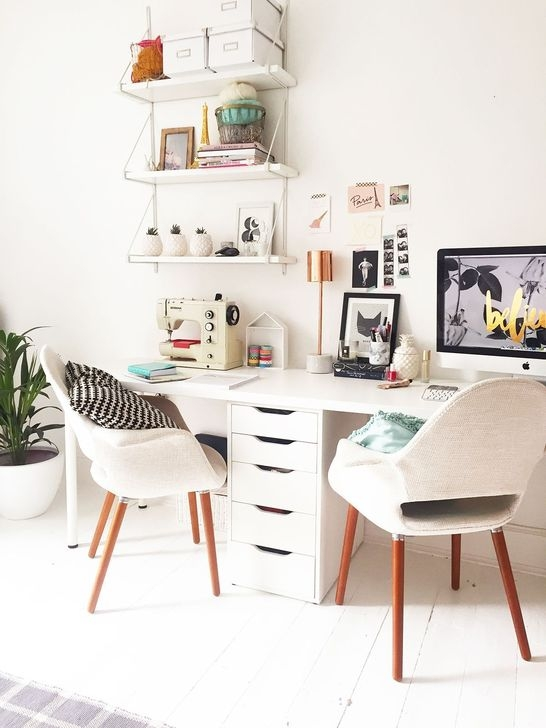 Minimalist Small Space Ideas For Bedroom And Home Office 28