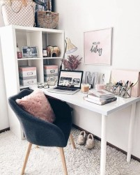Minimalist Small Space Ideas For Bedroom And Home Office 30