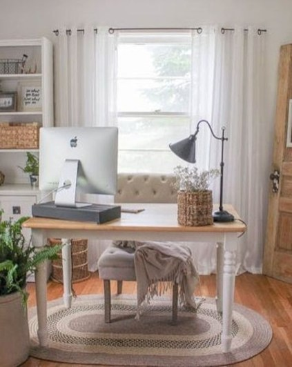 Minimalist Small Space Ideas For Bedroom And Home Office 35