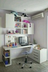 Minimalist Small Space Ideas For Bedroom And Home Office 42