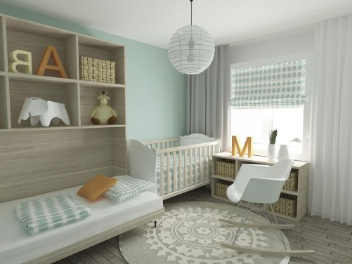 Modern Baby Room Themes Design Ideas 17