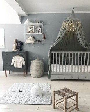 Modern Baby Room Themes Design Ideas 34