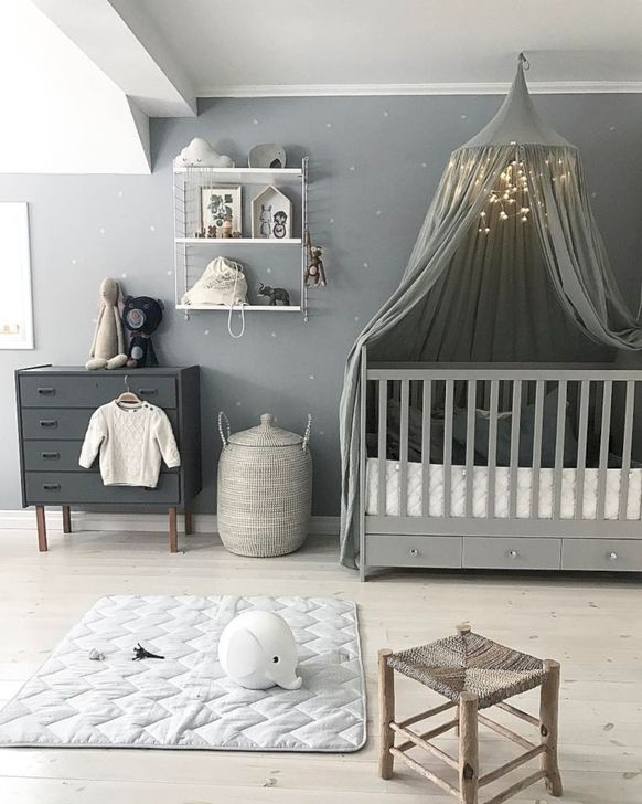 Modern Baby Room Themes Design Ideas 39