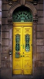 Outstanding Colorful Door Ideas For House 14
