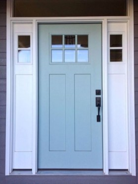 Outstanding Colorful Door Ideas For House 17