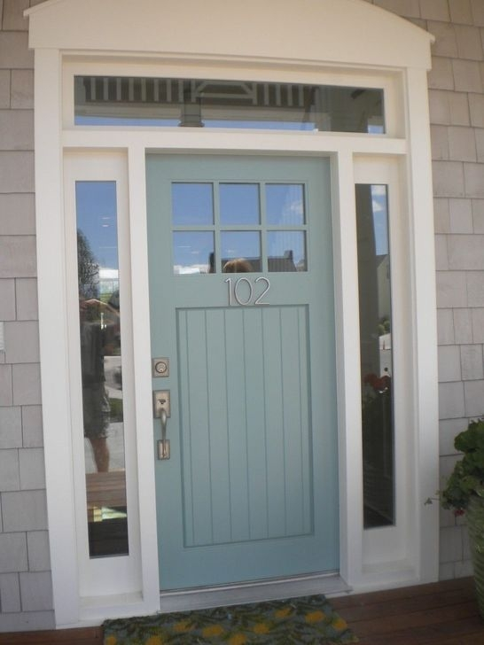 Outstanding Colorful Door Ideas For House 36