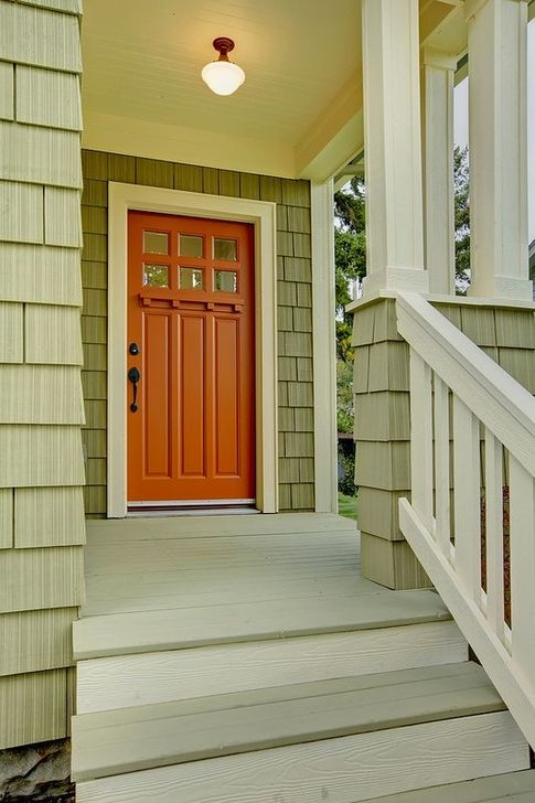 Outstanding Colorful Door Ideas For House 39