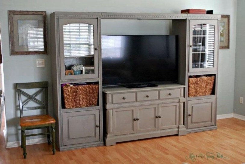 Rustic Home Entertainment Centers Ideas 04