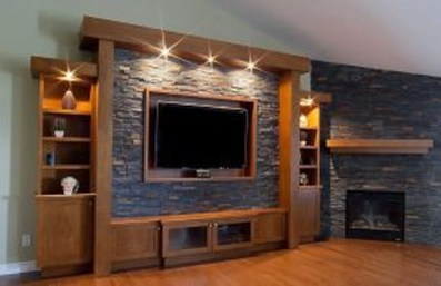 Rustic Home Entertainment Centers Ideas 24