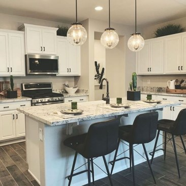 Awesome White And Clear Kitchen Design Ideas 13