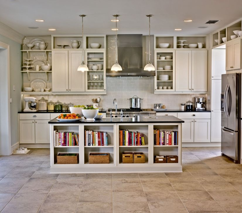 Awesome White And Clear Kitchen Design Ideas 16