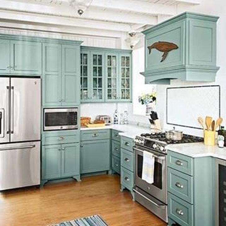 Awesome White And Clear Kitchen Design Ideas 17