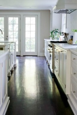 Awesome White And Clear Kitchen Design Ideas 19